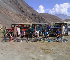 Karakoram Highway Biking